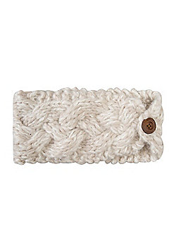 Mountain Warehouse Toasty Womens Headband - White