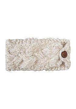 Mountain Warehouse Toasty Womens Headband - White