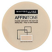Maybelline Affinitone Perfecting Powder 9g - 09 Rose