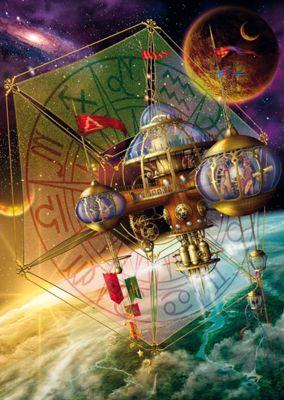 Ciro Marchetti - Space Station Puzzle