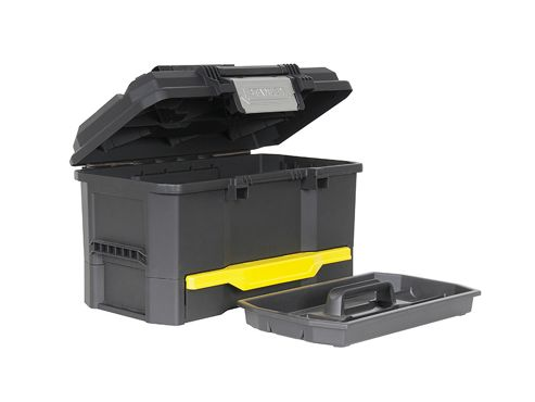 Stanley One Touch Toolbox with Drawer 48cm (19in)