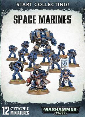 Warhammer Start Collecting! Space Marines Model Kit