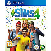 The Sims 4 Deluxe Party Edition - PS4