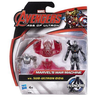 Marvel Avengers Age of Ultron War Machine vs. Sub-Ultron 006