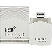 Mont Blanc Legend Spirit Eau de Toilette (EDT) 100ml Spray For Men