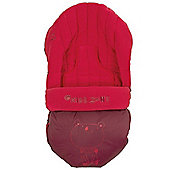 Jane Moom Car Seat Footmuff (Red)