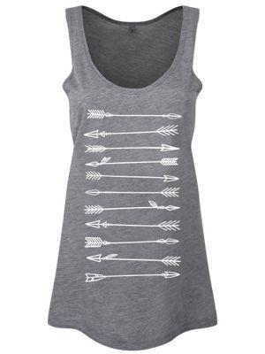 Arrows Floaty Grey Women's Vest