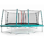 Skyhigh 10ft x17ft Rectangular Trampoline with Enclosure
