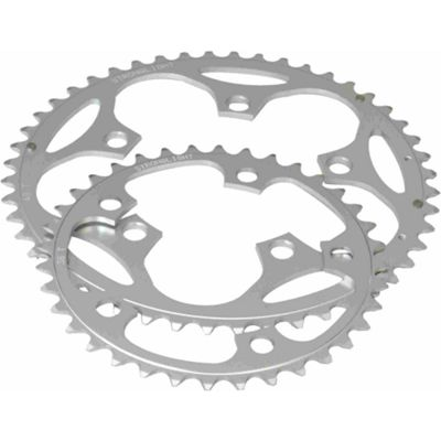 Stronglight 5-Arm Alloy Chainring: 52T Silver.