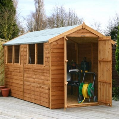 plain garden sheds tesco apex shed with double doors and decor