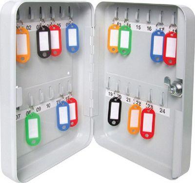 Sterling Grey Key Cabinet - 24 keys