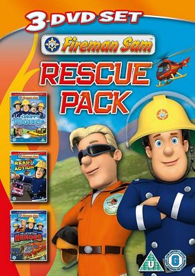 Fireman Sam - Rescue Pack  (DVD)