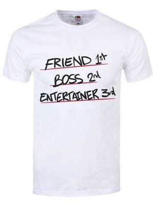 Friend 1st Men's White T-Shirt