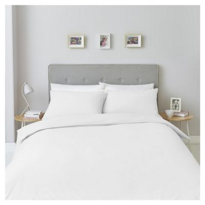 White Washed Cotton Single Duvet Set