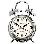 Jones & Co Twin Bell Alarm Clock