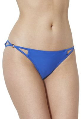 South Beach Ring Insert Bikini Briefs Cobalt Blue 10