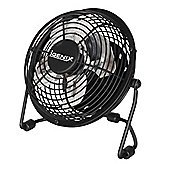 Igenix DF0004 4 Inch USB Desk Fan - Black