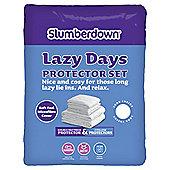 Slumberdown Lazy Days Double Protection Set