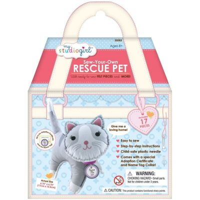 University Games Sew-your-own Rescue Pet Cat