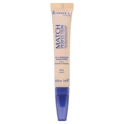 Rimmel Match Perfection Illuminating Concealer Ivory