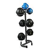 Bodymax Vertical Medicine Ball Rack Plus 3-9Kg Balls