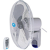 Premiair 16 Wall Fan with Remote Control And Timer