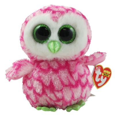 TY Beanie Boo Plush - Bubbly The Owl 15cm (UK Exclusive)