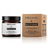 Organic & Botanic Mandarin Orange Repairing Night Moisturiser 50ml