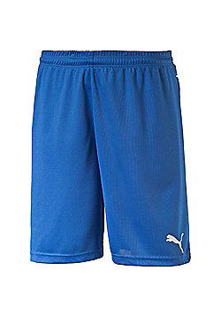 Puma BTS Team Football Sport Short Royal Blue - Blue