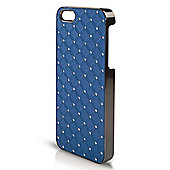 Orzly Hardback PC Back Cover for iPhone 5 - Blue