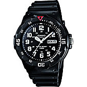 Casio Casio Mens Resin Day & Date Watch MRW-200H-1BVES