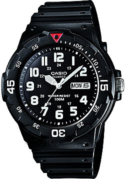 Casio Casio Mens Resin Day & Date Watch MRW-200H-1BVES