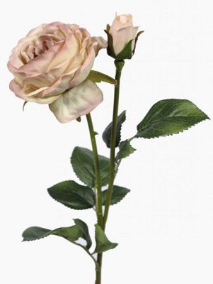 Artificial - Vintage Rose - Pink