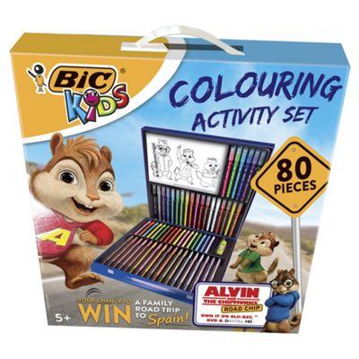 Bic Kids Colouring Activity Set 80 Pieces