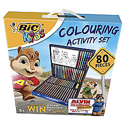 Bic Kids Colouring Activity Set 80 Pieces