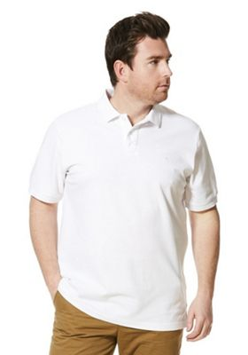 Jacamo Polo Shirt L White