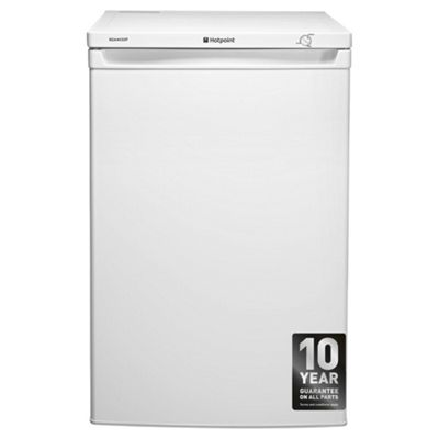 Hotpoint RZAAV22P Undercounter Freezer, 55cm, A+ Energy Rating, White