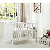 Orlando Cot bed Cotbed Water With Free Repellent Mattress (White)