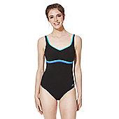 Speedo Sculpture® Body Shaping Swimsuit - Black