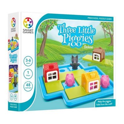 Smart Games - Three Little Piggies Puzzle Game