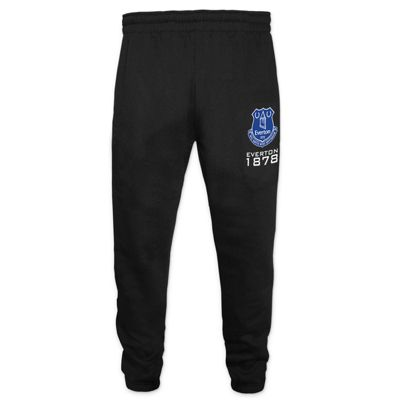 Everton FC Boys Slim Fit Jog Pants Black 6-7 Years