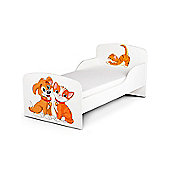 PriceRightHome Cat and Dog Toddler Bed & Fully Sprung Mattress
