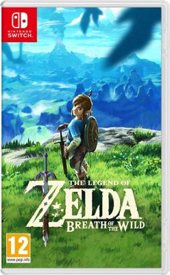 The Legend Of Zelda: Breath of the Wild- Nintendo Switch