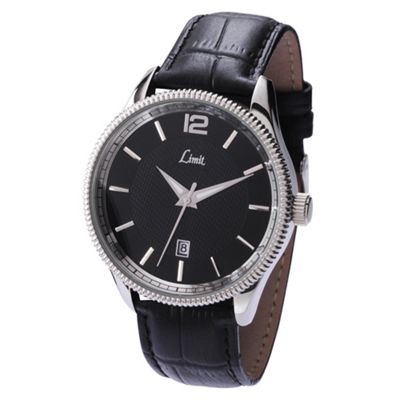 Limit Mens Leather Strap Watch