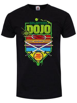 Splinters Dojo Men's T-shirt, Black.