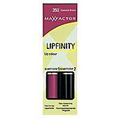 Max Factor Lipfinity Colour Lipstick / Lip Gloss - Essential Brown 350