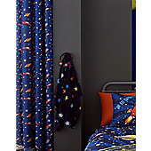 Outer Space, Planets Eyelet Curtains 72s