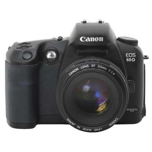 Canon EOS 60D 18MP Digital SLR Camera Black with 18-55mm Lens