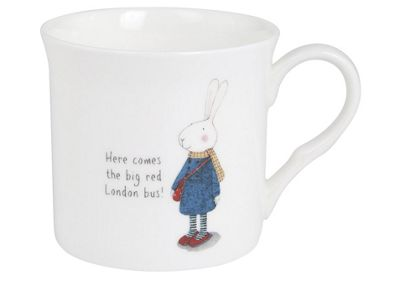 Ruby Red Shoes London Red Bus Mug