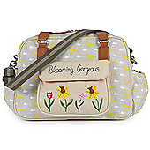 Pink Lining Blooming Gorgeous Changing Bag (Garden Birds)